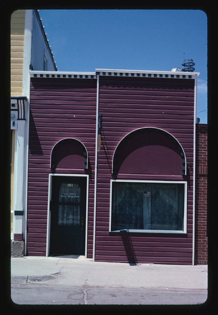 8 x 12 Photo of Law offices, Lander, Wyoming 2004 Margolies, John 65a