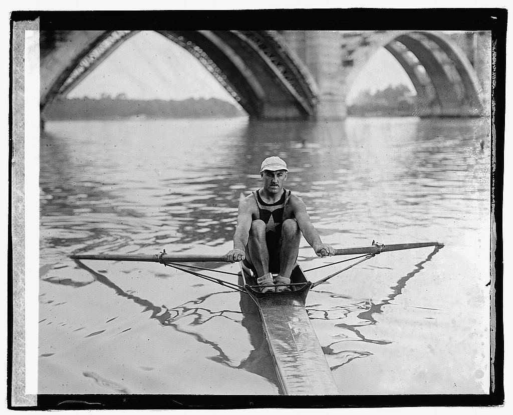 16 x 20 Reprinted Old Photo ofHutterly, Potomac Boat Club 1921 National Photo Co  12a