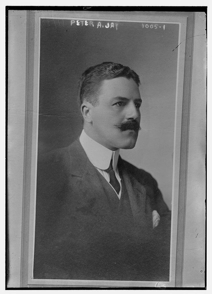 8 x 10 Photo of Peter A. Jay 1913 G. Bain Collection 19a
