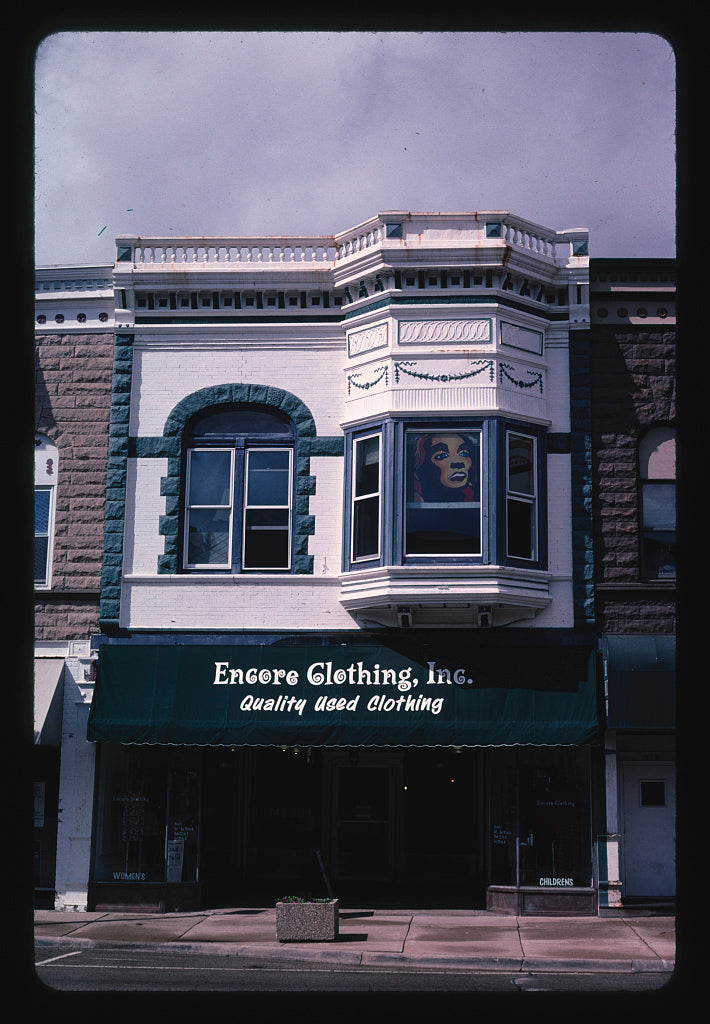 8 x 12 Photo of Storefront 3, De Kalb, Illinois 2003 Margolies, John 52a