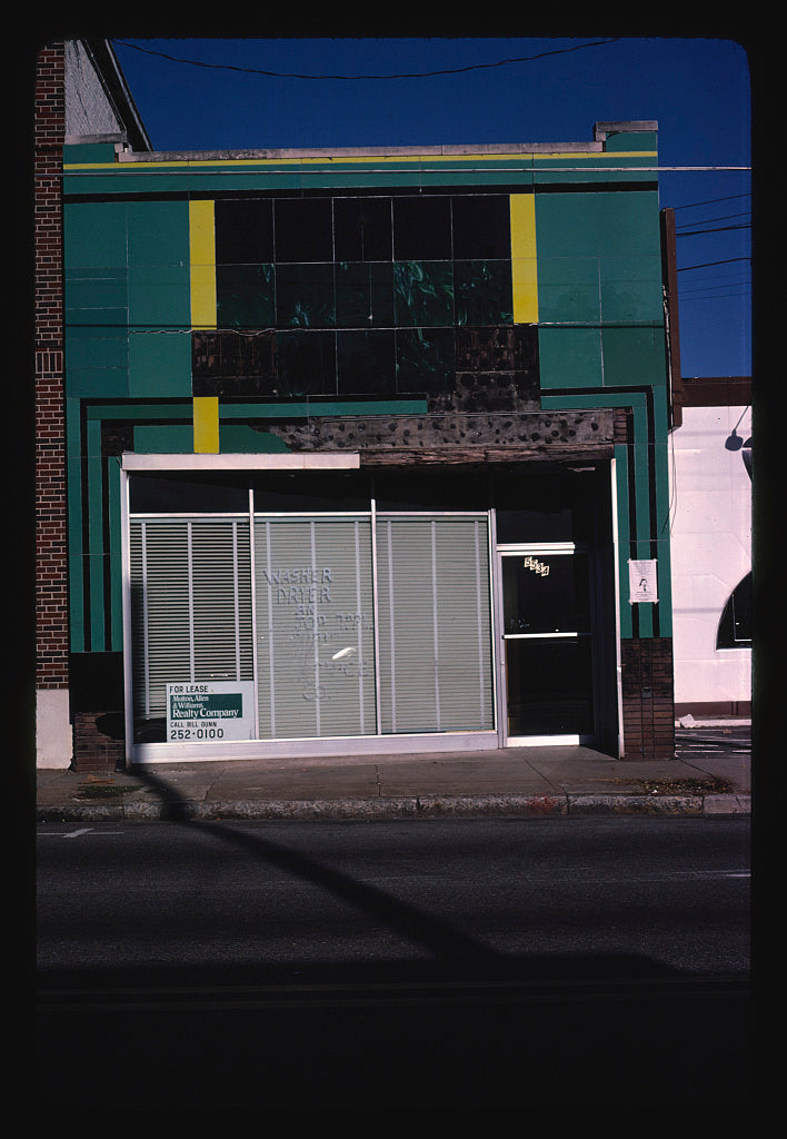 8 x 12 Photo of Vitrolite storefront, Birmingham, Alabama 1980 Margolies, John 62a