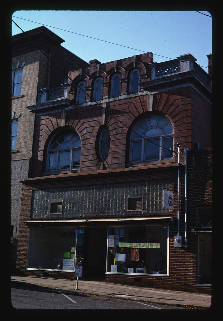 8 x 12 Photo of Storefront, West Union, West Virginia 1995 Margolies, John 81a