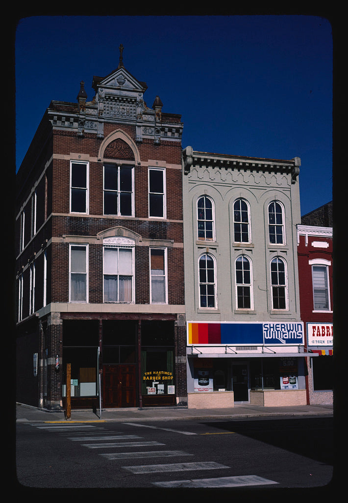 8 x 12 Photo of Commercial buildings, Hastings, Minnesota 1981 Margolies, John 71a