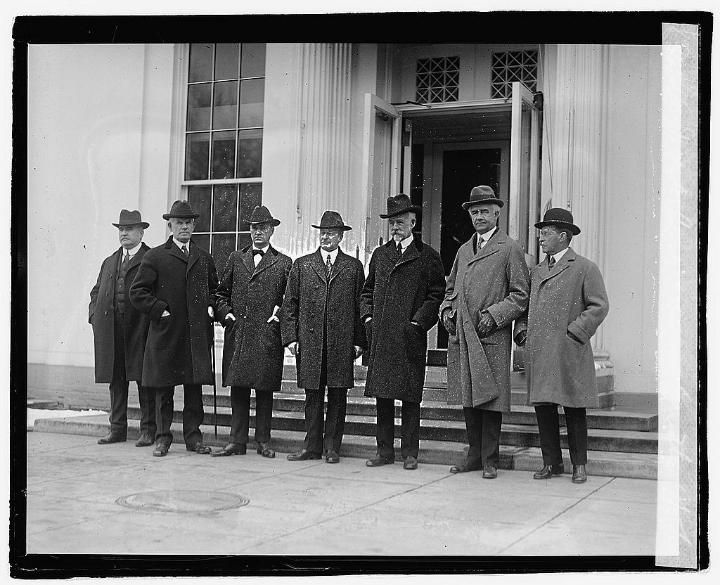 16 x 20 Reprinted Old Photo ofJoint Congressional Committee, 12/5/21 1921 National Photo Co  34a