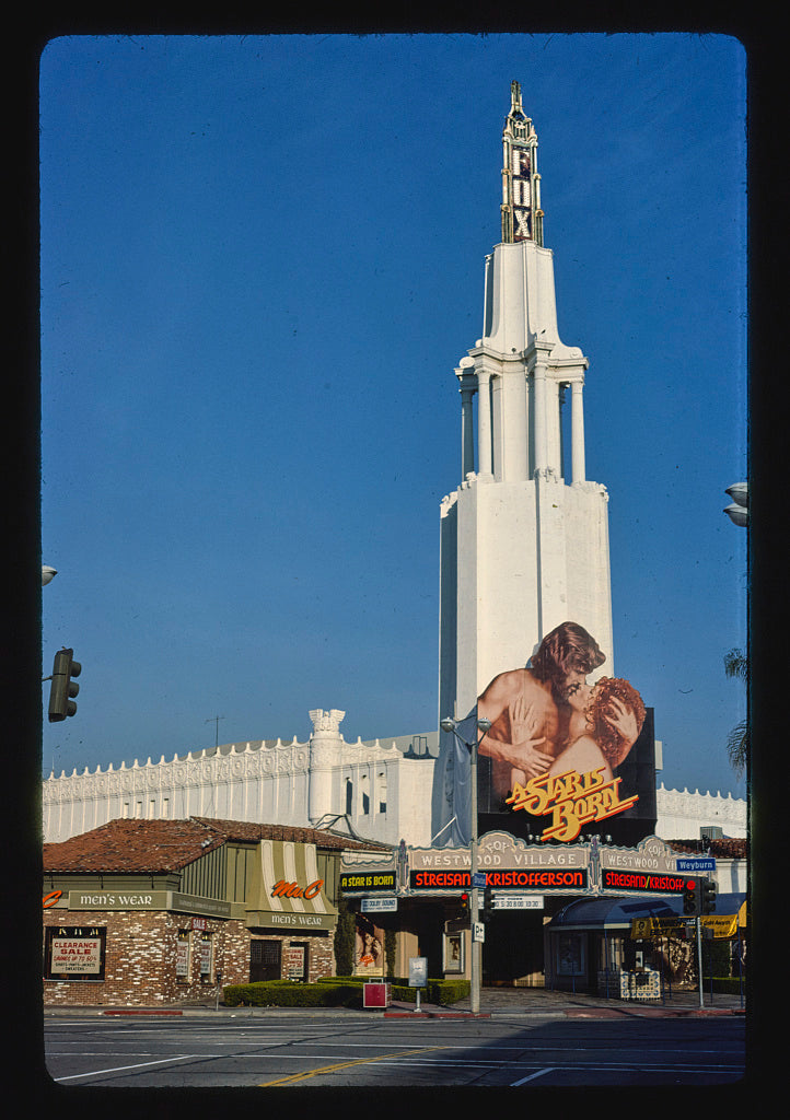 8 x 12 Photo of Fox Westwood Village Theater, Westwood, California 1977 Margolies, John 16a