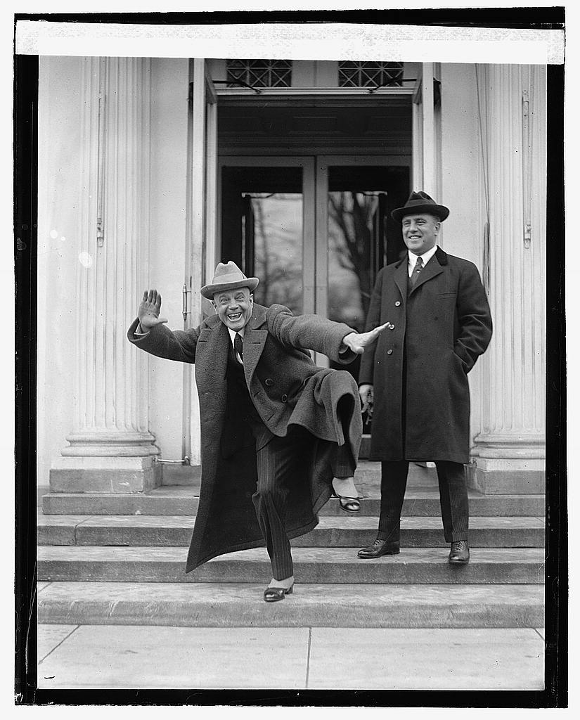 16 x 20 Reprinted Old Photo ofBilly Sunday at White House, 2/20/22 1922 National Photo Co  44a