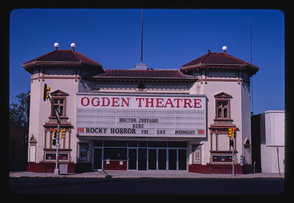 8 x 12 Photo of Ogden Theater, Denver, Colorado 1980 Margolies, John 47a