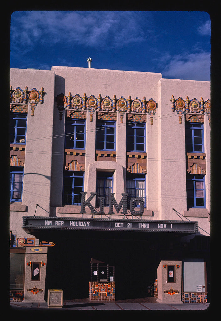 8 x 12 Photo of Kimo Theater, Albuquerque, New Mexico 1987 Margolies, John 76a
