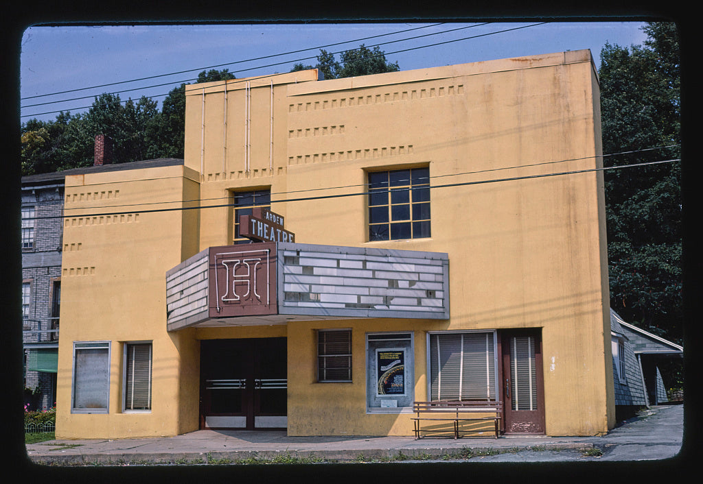 8 x 12 Photo of Harden Theater, Calicoon, New York 1978 Margolies, John 93a