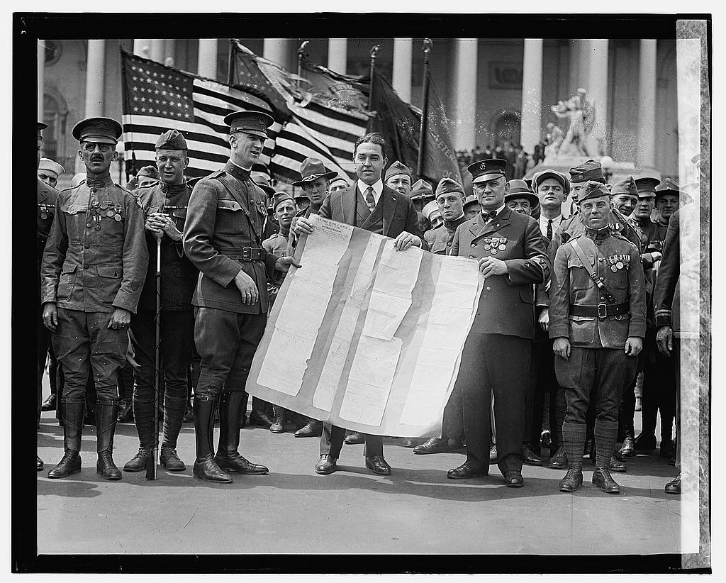 16 x 20 Gallery Wrapped Frame Art Canvas Print of Congressman Jno. Phillip Hill, 5/8/22 1922 National Photo Co  37a