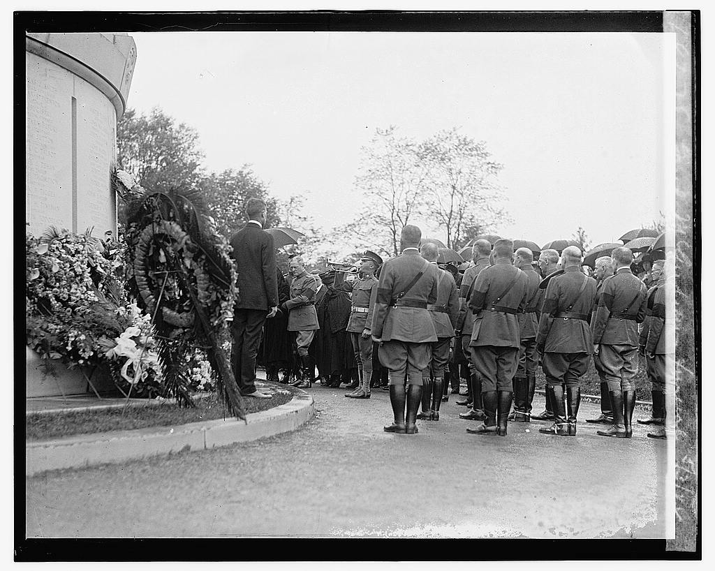 16 x 20 Gallery Wrapped Frame Art Canvas Print of Gen'l. McAndrews funeral, 5/3/22 1922 National Photo Co  77a