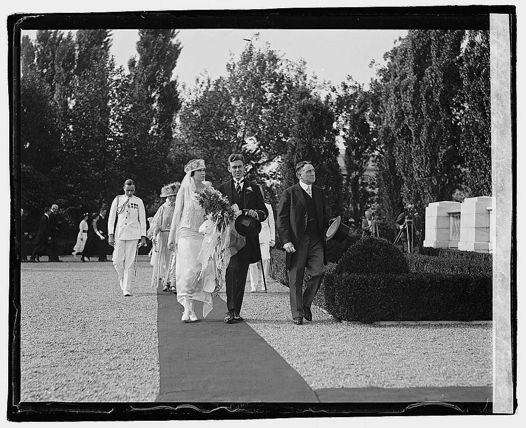 16 x 20 Reprinted Old Photo ofMrs. Hughes wedding, 6/10/22 1922 National Photo Co  24a