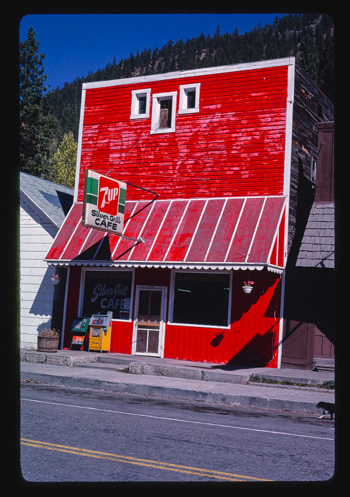 8 x 12 Photo of Silver Grill Cafe, Alberton, Montana 1987 Margolies, John 14a