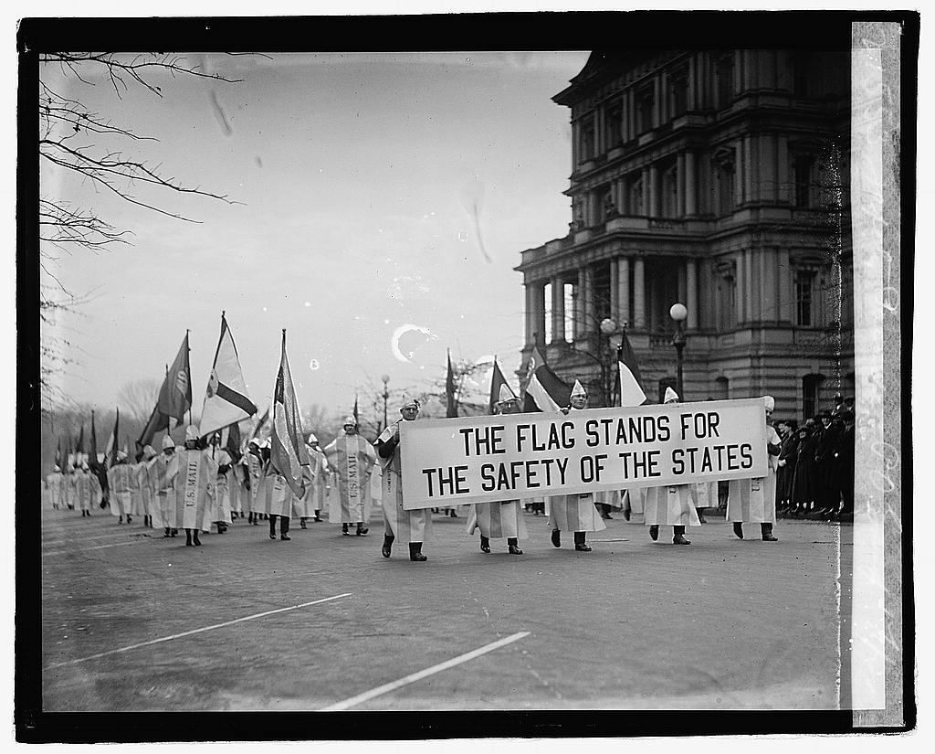 16 x 20 Reprinted Old Photo of Safety parade, P.O. group, 12/1/22 1922 National Photo Co  61a