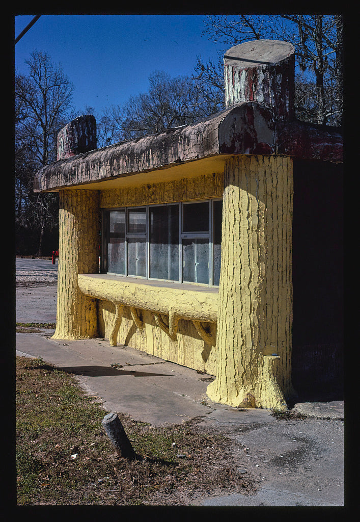 8 x 12 Photo of The Stump Cafe, Liberty, Texas 1979 Margolies, John 13a
