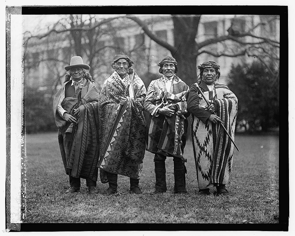 16 x 20 Gallery Wrapped Frame Art Canvas Print of Pueblo Indians, 1/15/23 1923 National Photo Co  82a