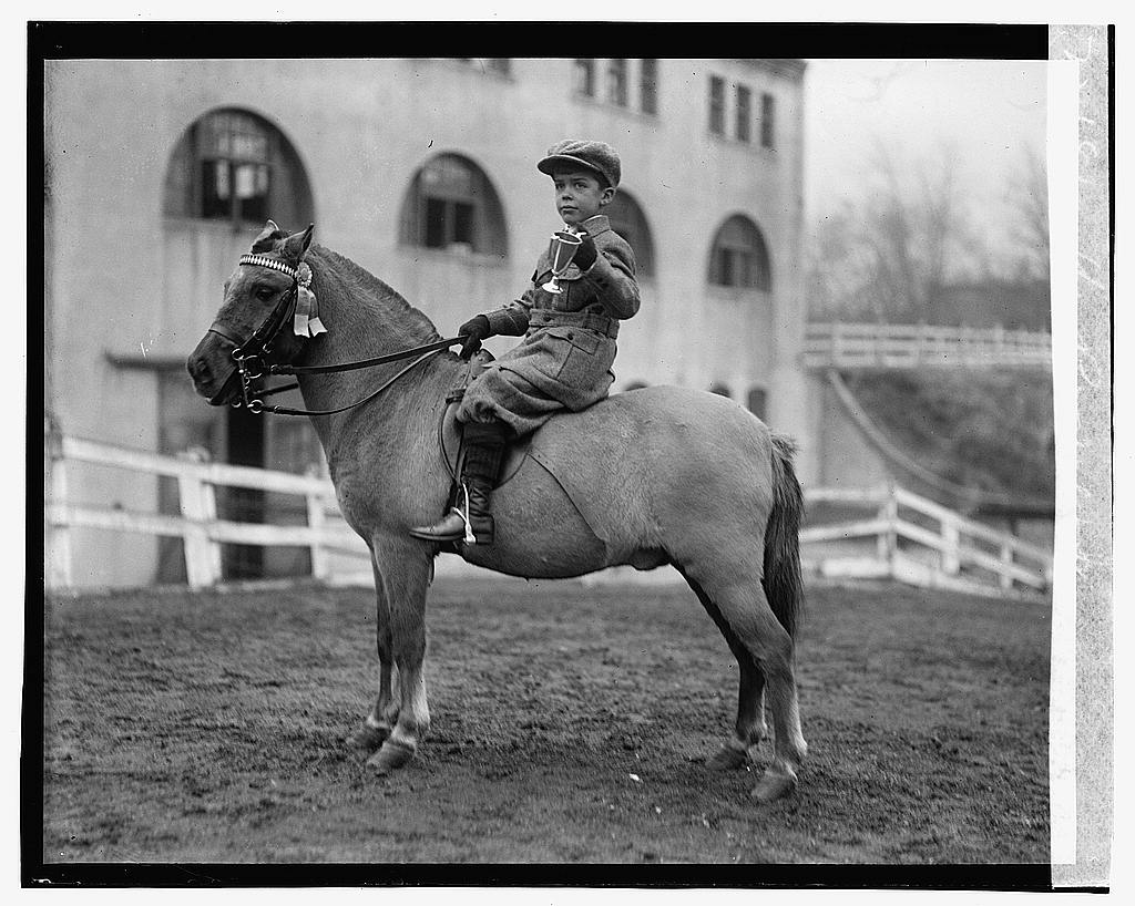 16 x 20 Gallery Wrapped Frame Art Canvas Print of Theo. Roosevelt, Jr., 1/27/23 1923 National Photo Co  05a