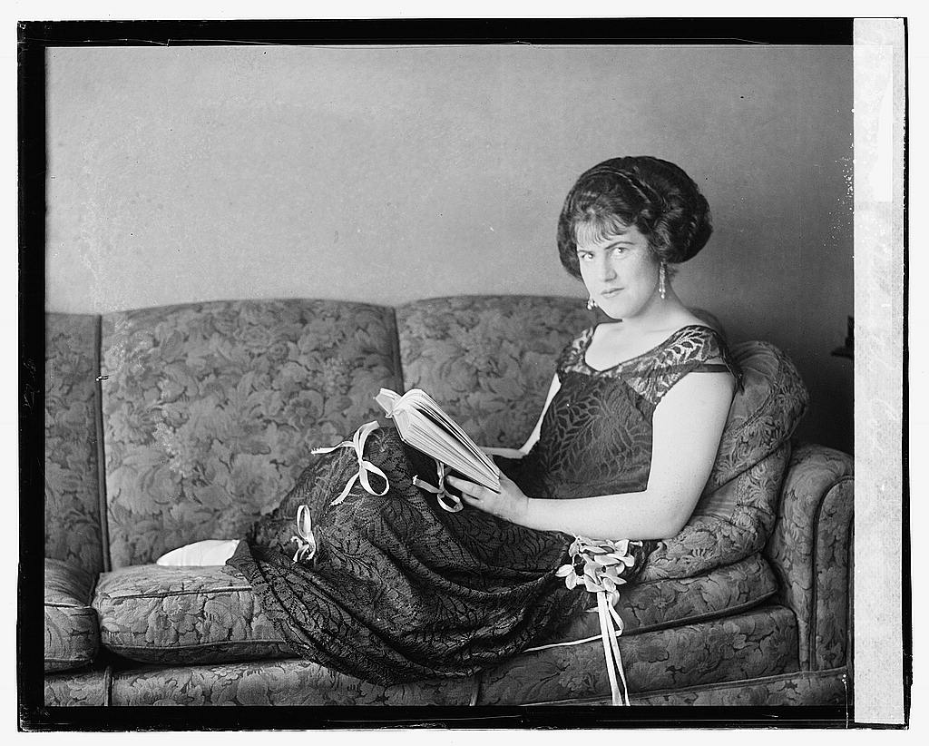 16 x 20 Gallery Wrapped Frame Art Canvas Print of Miss Asenath Cox 1923 National Photo Co  23a