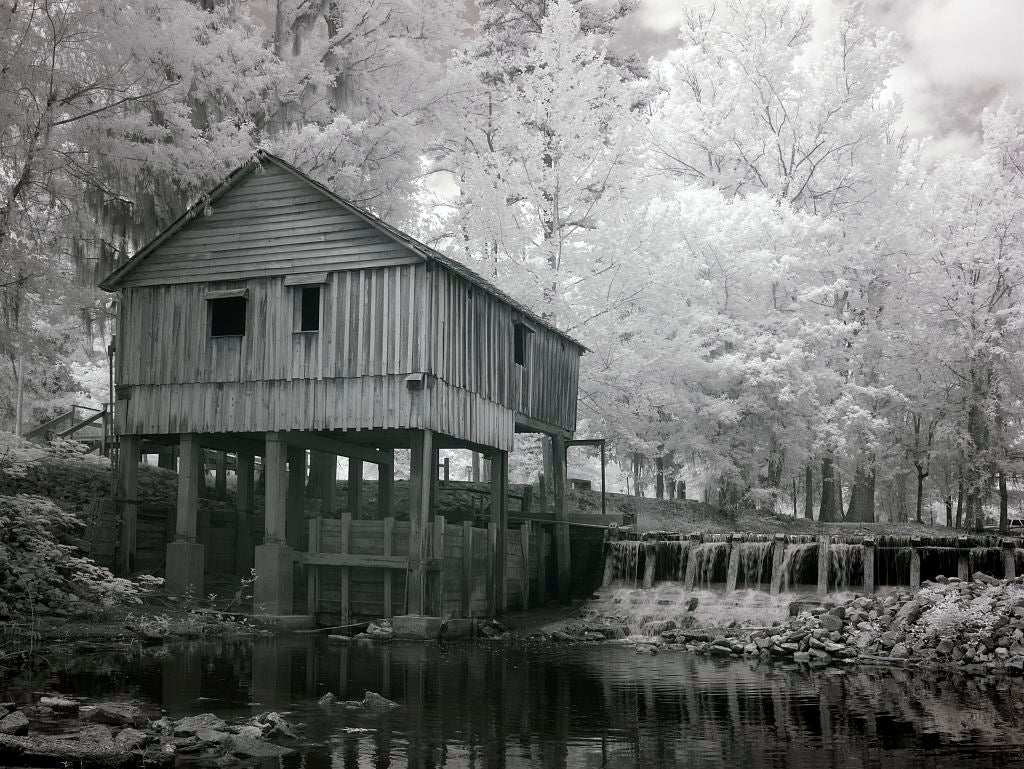18 x 24 Photograph reprinted on fine art canvas  of Rikard's Mill near Beatrice Alabama r94 2010 May 1 by Highsmith, Carol M.