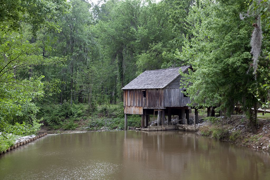 18 x 24 Photograph reprinted on fine art canvas  of Historic Rikard's Mill is a truly historic site near Beatrice Alabama r52 2010 May 2 by Highsmith, Carol M.
