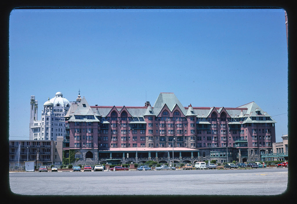8 x 12 Photo of Marlborough-Blenheim-Claridge Hotels, Atlantic City, New Jersey 1978 Margolies, John 21a