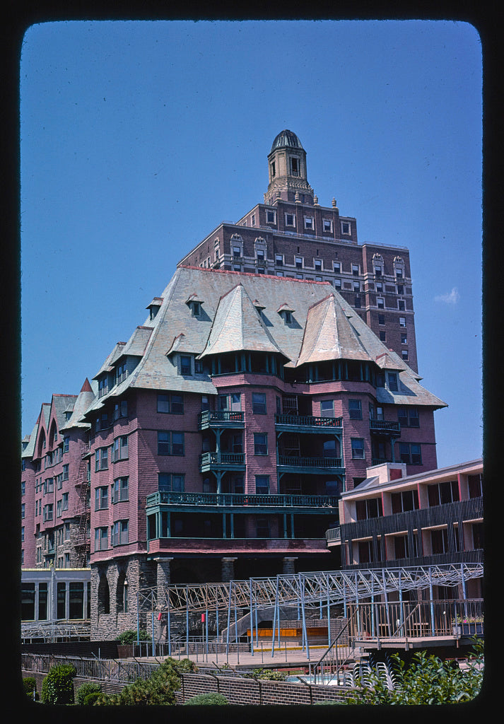 8 x 12 Photo of Marlborough-Blenheim-Claridge Hotels, Atlantic City, New Jersey 1978 Margolies, John 47a