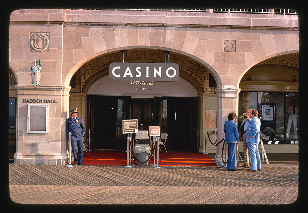 8 x 12 Photo of Resorts Casino, Atlantic City, New Jersey 1985 Margolies, John 85a
