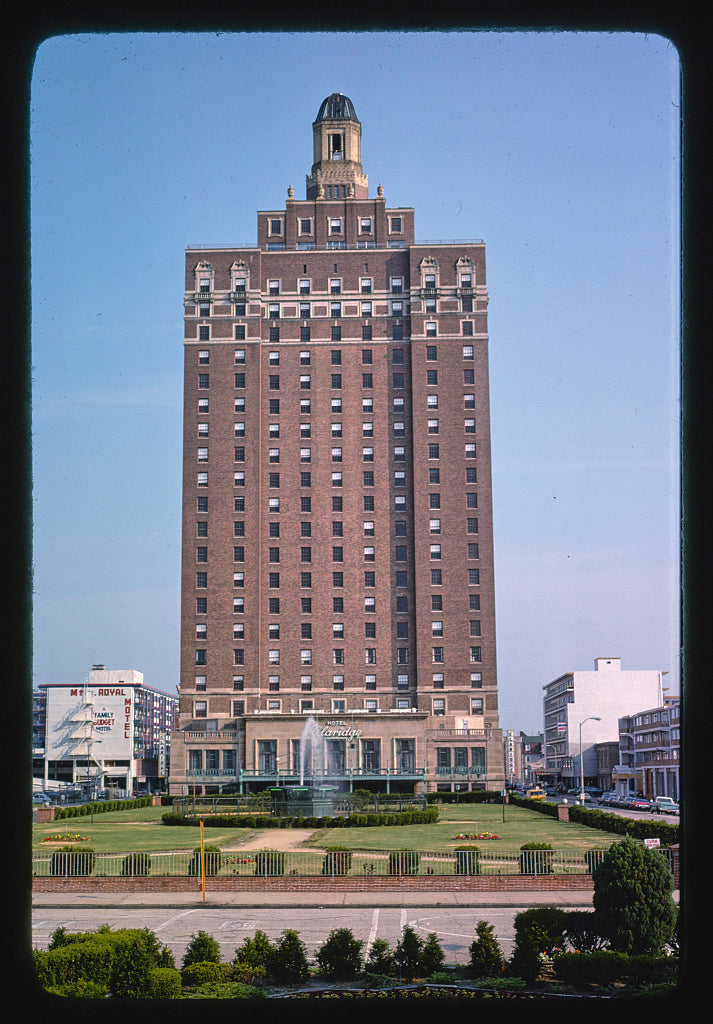 8 x 12 Photo of  Claridge Hotel, Atlantic City, New Jersey  1978 Margolies, John 66a