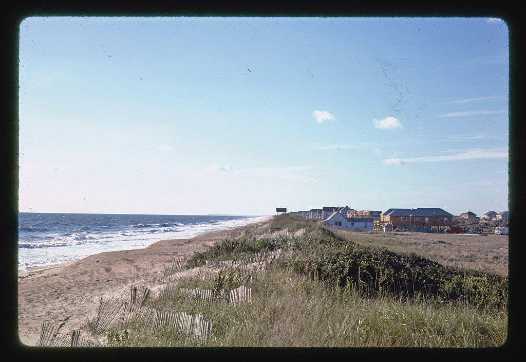8 x 12 Photo of View of beach from the Sanderling Inn, Duck, North Carolina 1985 Margolies, John 72a