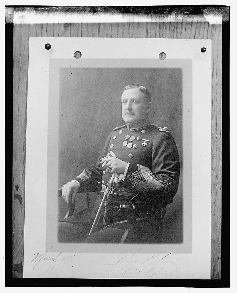 16 x 20 Gallery Wrapped Frame Art Canvas Print of Brig. Gen'l. ... 1923 National Photo Co  30a