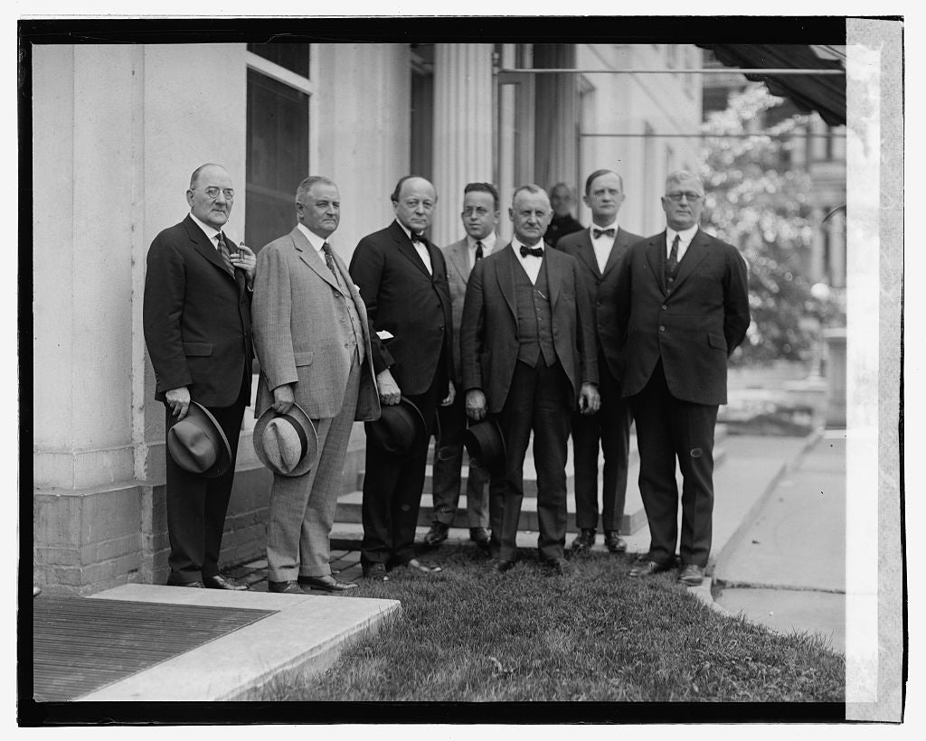 16 x 20 Gallery Wrapped Frame Art Canvas Print of Jm. Pomerene & group, 9/10/23 1923 National Photo Co  92a