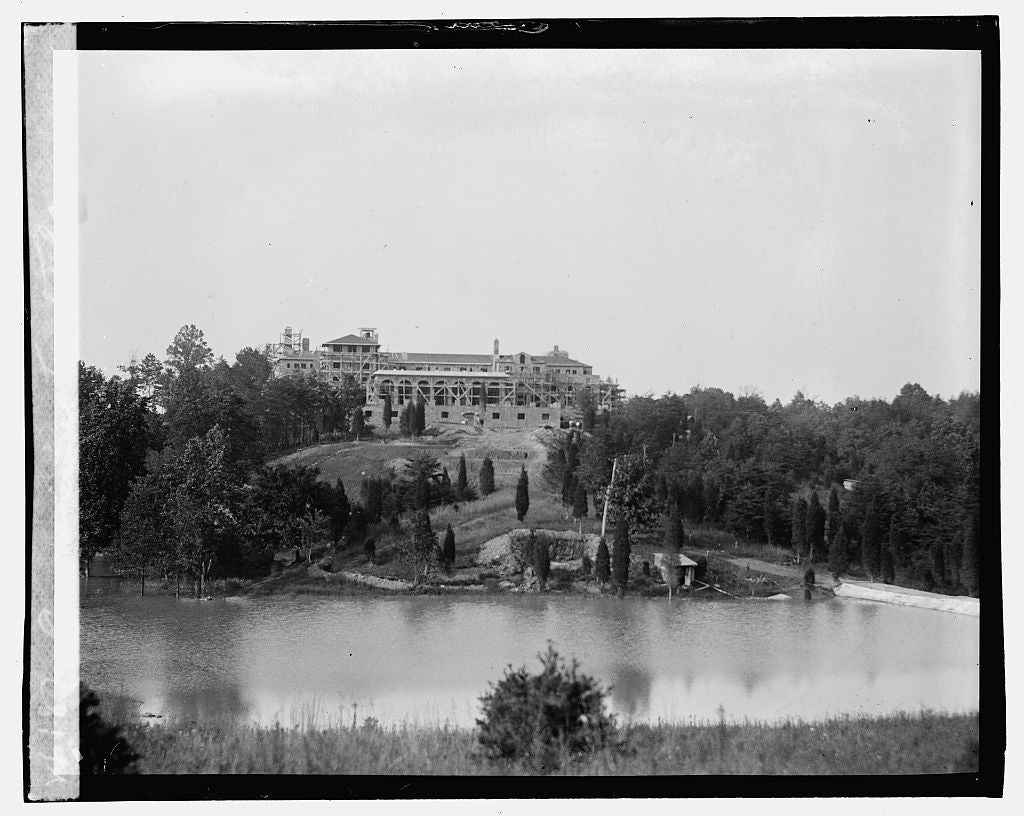 16 x 20 Gallery Wrapped Frame Art Canvas Print of Congressional Country Club, Bethesda, Maryland 1923 National Photo Co  95a