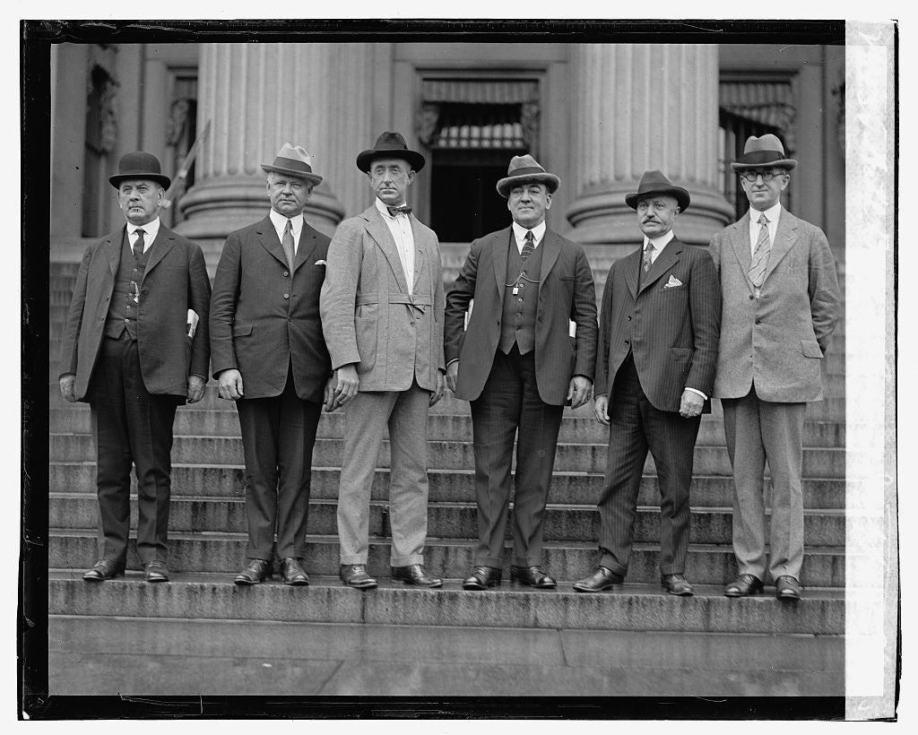 16 x 20 Gallery Wrapped Frame Art Canvas Print of Nat'l. Bureau Criminal Identification, 9/23/23 1923 National Photo Co  44a