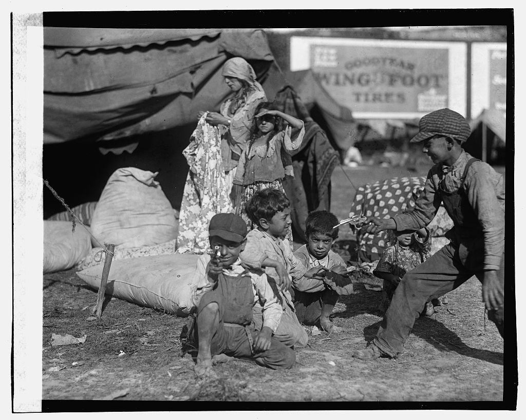 16 x 20 Gallery Wrapped Frame Art Canvas Print of Gypsies 1923 National Photo Co  52a