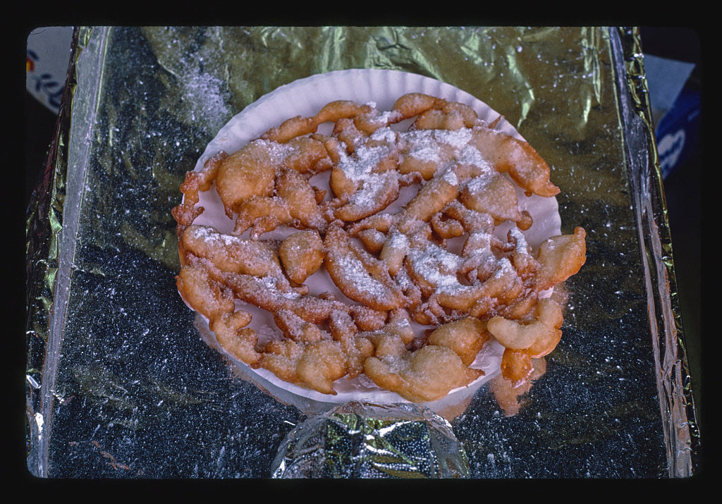 8 x 12 Photo of Funnel cake, Seaside Heights, New Jersey 1978 Margolies, John 71a