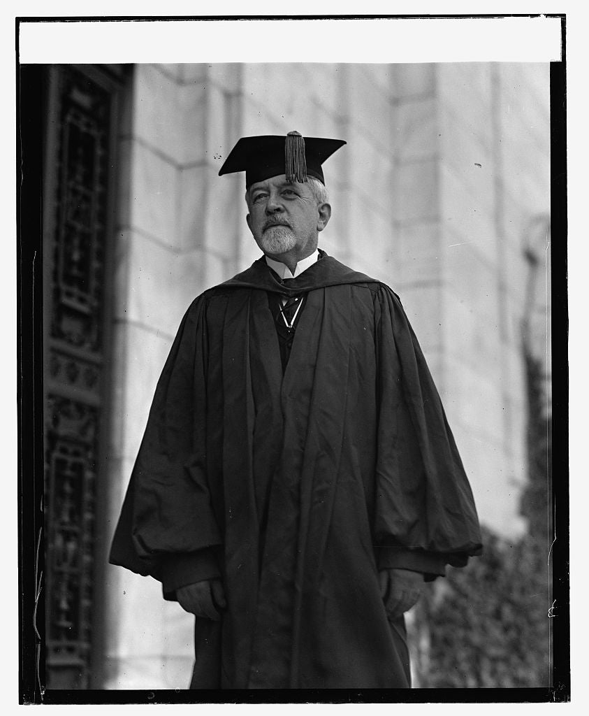 16 x 20 Reprinted Old Photo ofJustin Sanford, 11/7/23 1923 National Photo Co  53a