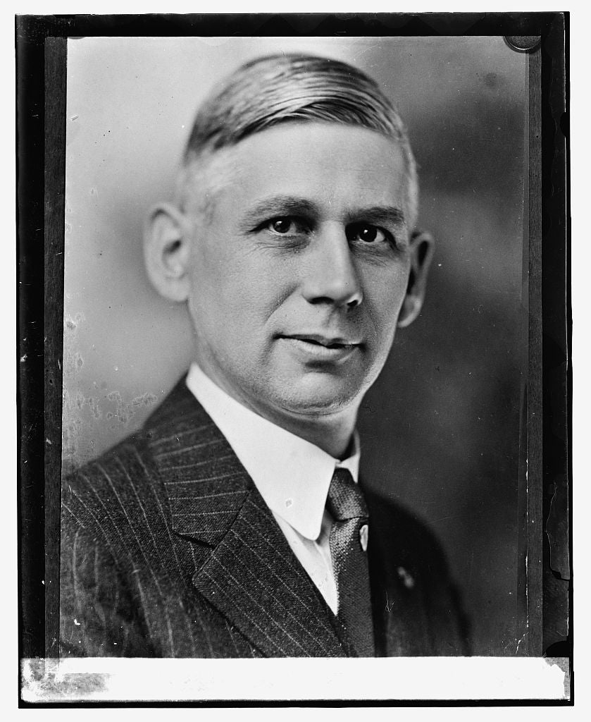 16 x 20 Reprinted Old Photo ofBird J. Vincent of Michigan 1923 National Photo Co  90a