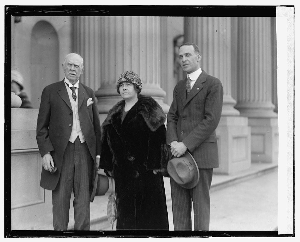 16 x 20 Gallery Wrapped Frame Art Canvas Print of Sherwood, Mrs. Noland, Lister Hill, 12/3/23 1923 National Photo Co  42a