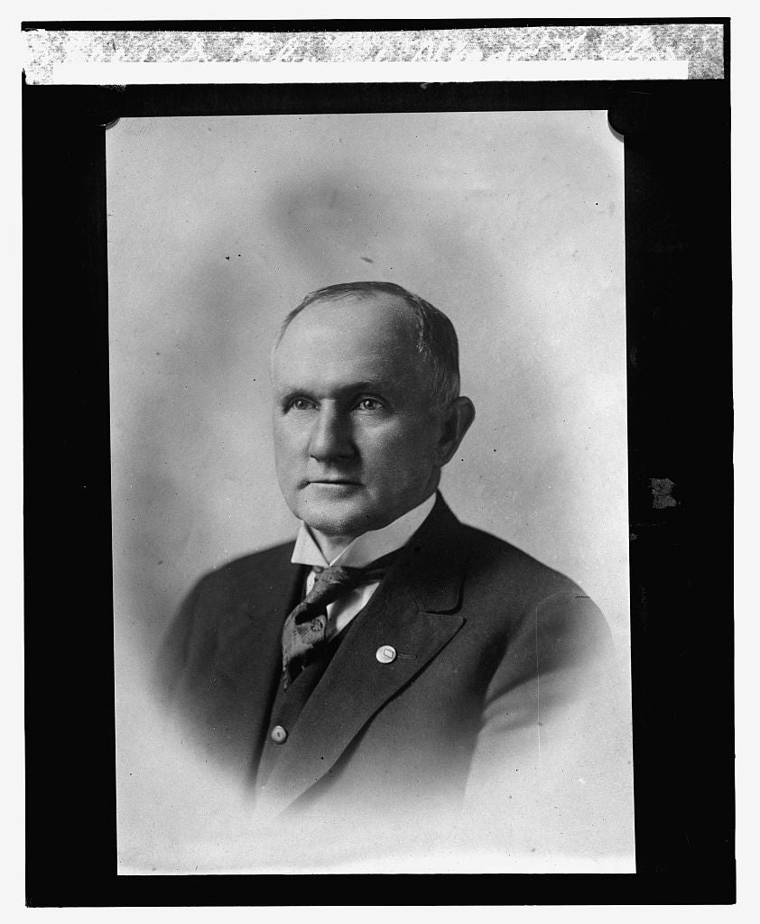 16 x 20 Reprinted Old Photo ofDr. Elwood Mead, 12/22/23 1923 National Photo Co  48a