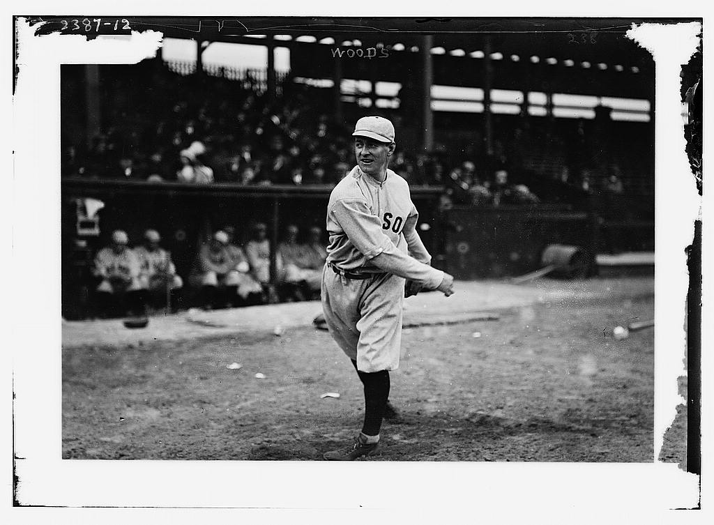 8 x 10 Photo of Unidentified player, Boston AL baseball  1913 G. Bain Collection 44a
