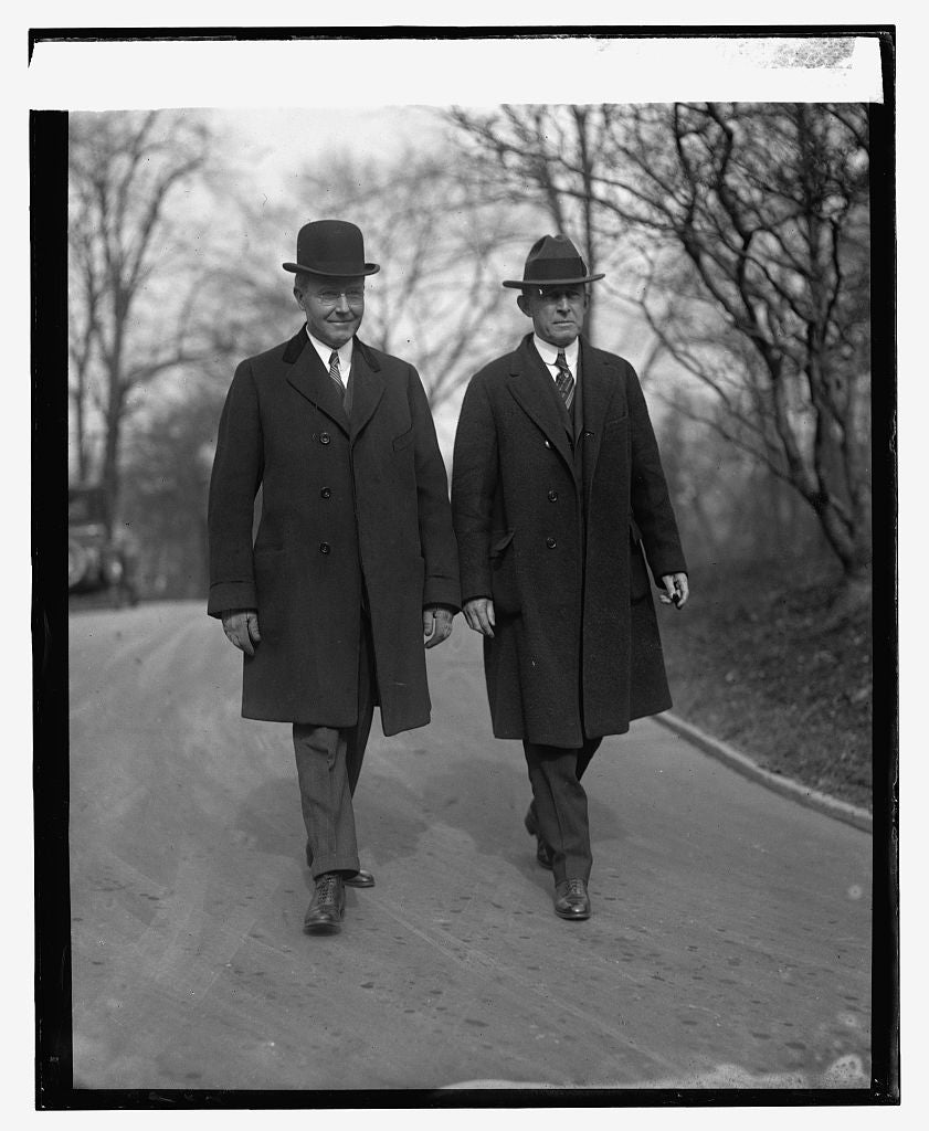 16 x 20 Reprinted Old Photo ofStrawn & Biggs, 1/31/24 1924 National Photo Co  99a