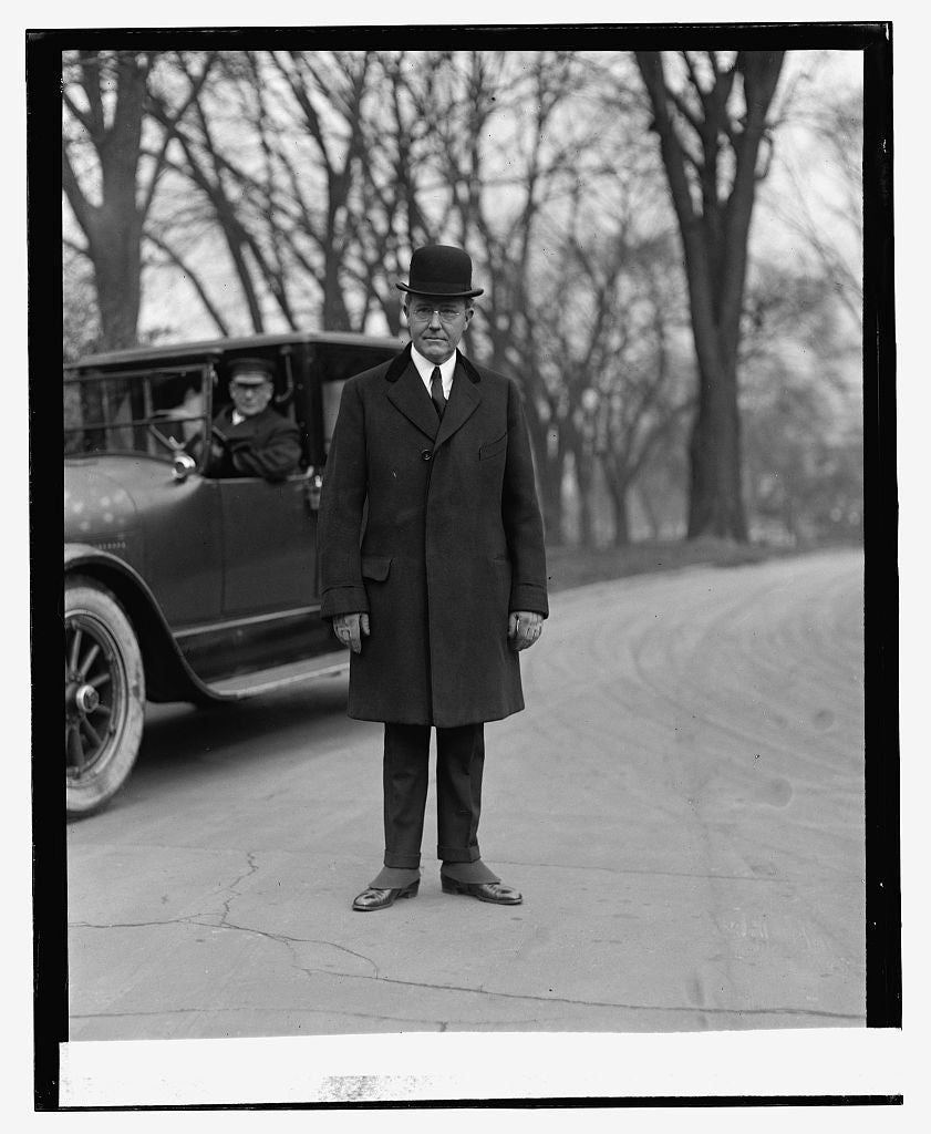 16 x 20 Reprinted Old Photo ofSilas H. Strawn, 1/30/24 1924 National Photo Co  00a