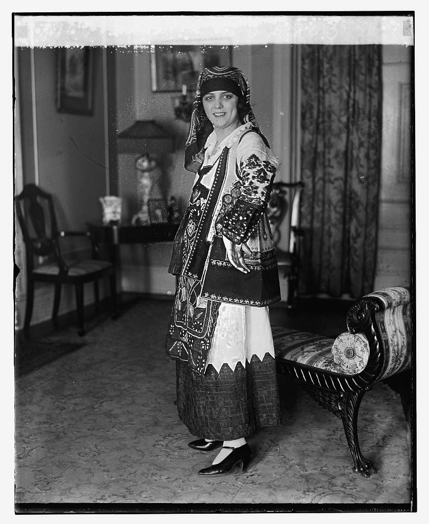 16 x 20 Reprinted Old Photo ofMiss Nina Diamantopulos 1924 National Photo Co  67a