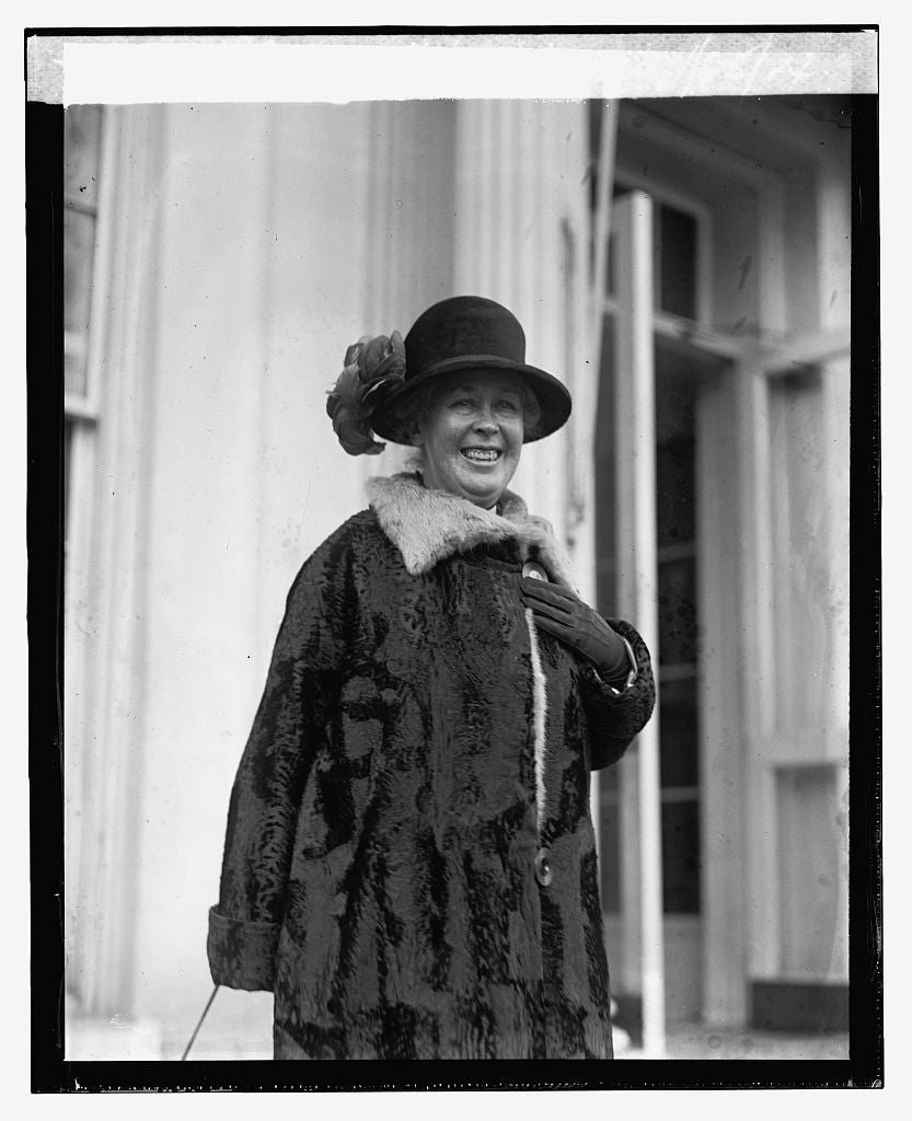 16 x 20 Reprinted Old Photo ofMiss Adelaide Mercer, 1/25/24 1924 National Photo Co  02a