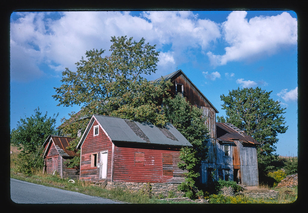 8 x 12 Photo of Fries Barn-Menges, Livingston Manor, New York 1978 Margolies, John 10a