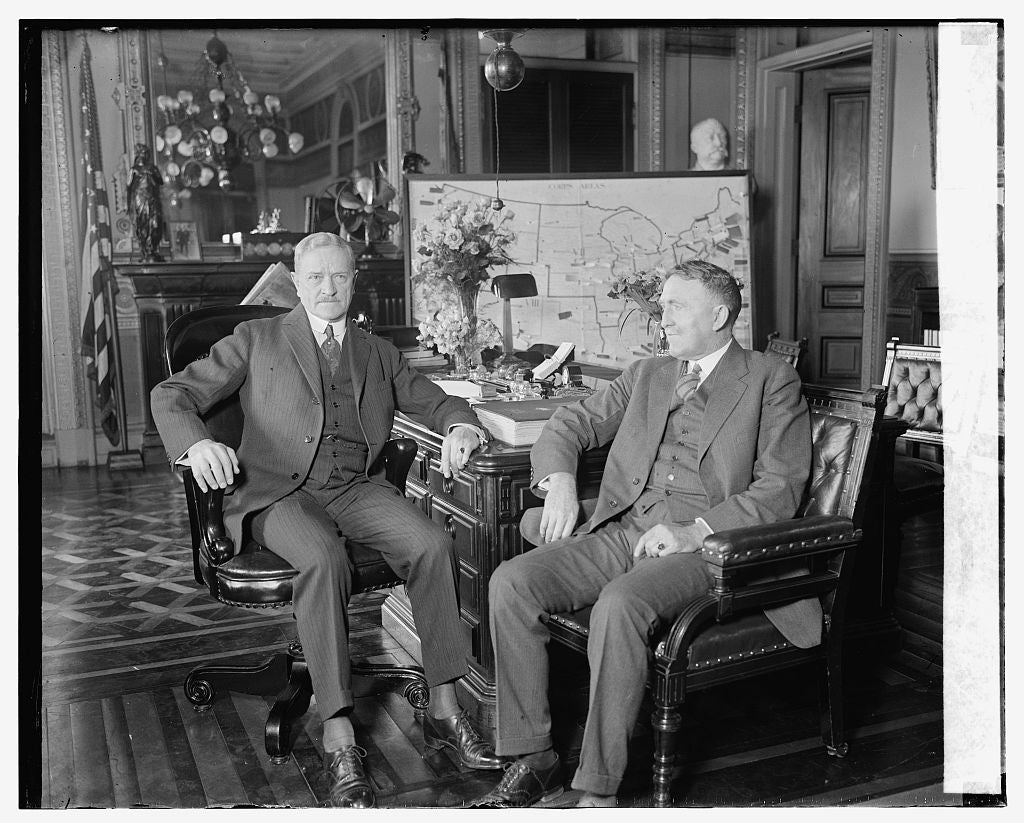 16 x 20 Gallery Wrapped Frame Art Canvas Print of  Pershing & Hines, 4/4/24 1924 National Photo Co  09a