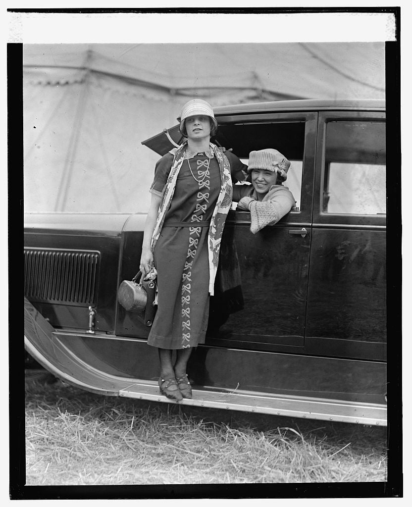 16 x 20 Gallery Wrapped Frame Art Canvas Print of May Wirth & Lillian Leitzel, 5/14/24 1924 National Photo Co  12a