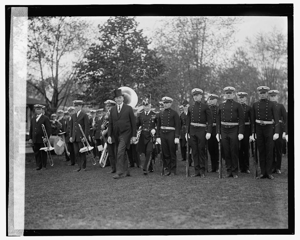 16 x 20 Gallery Wrapped Frame Art Canvas Print of Wilbur at Annapolis, 5/2/24 1924 National Photo Co  15a