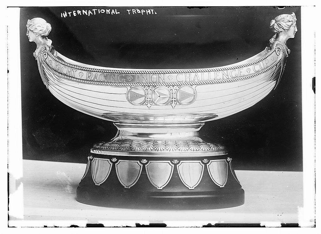 8 x 10 Photo of International Trophy 1912 G. Bain Collection 13a