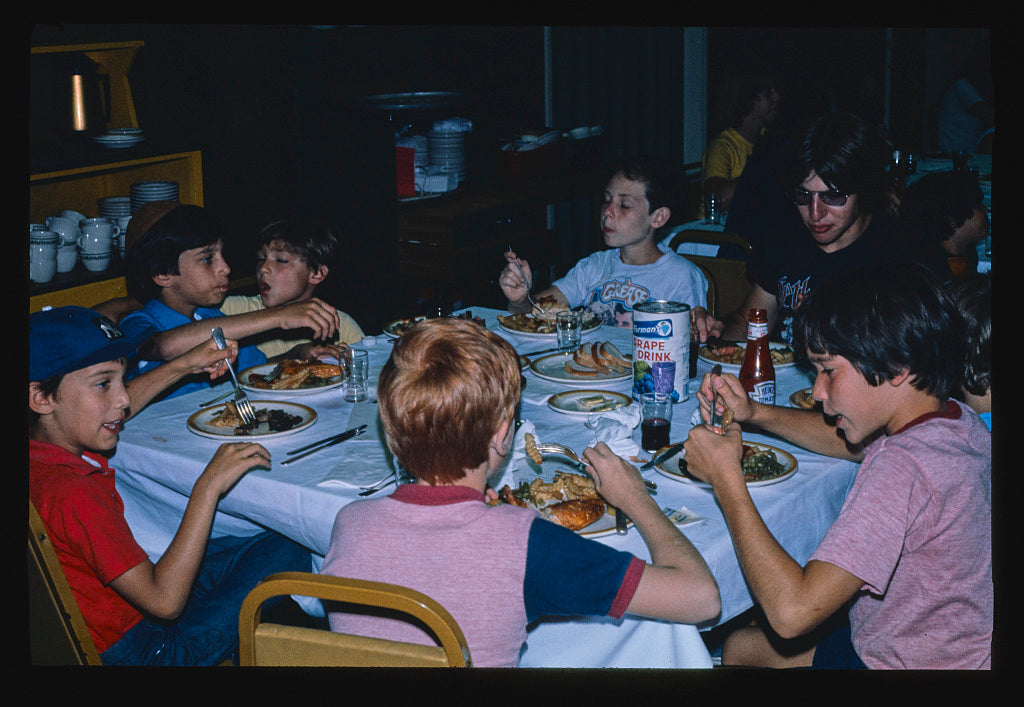8 x 12 Photo of Pines, kid's dining room, New York 1978 Margolies, John 99a